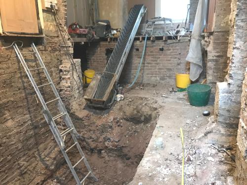 Newport Street Basement Excavation and Conversion